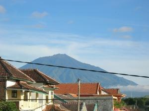 gunung arjuno dari depan