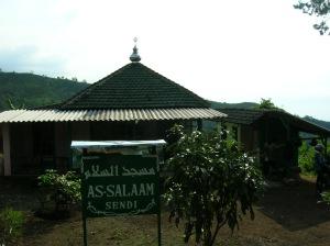 Masjid di dalam perjalanan
